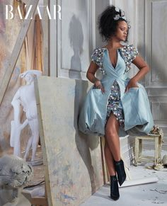 "Rihanna Models Chic Looks for 'Harper's Bazaar' Cover Story!: Photo Rihanna is on the cover of Harper's Bazaar's May 2019 issue and she's looking flawless in some amazing couture! ""The incredible feat of design that is couture… Couture Mode, Haute Couture Dresses, Couture Fashion, Estilo Rihanna, Rihanna Riri, Looks Rihanna, Rihanna Style, Rihanna Fashion, Fashion Editorials"