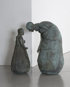 'Conversation Piece' by Juan Muñoz