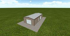 3D #architecture via @themuellerinc http://ift.tt/2y0GQmi #barn #workshop #greenhouse #garage #DIY