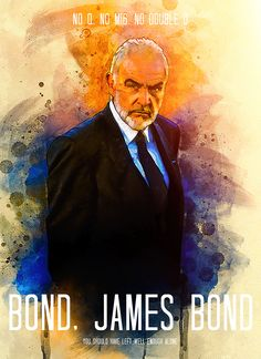 Sean Connery James Bond, Mc Carthy, James Bond Movies, Illustration Artists, Tom Ford, Movie Tv, Cinema, Deviantart, Comics