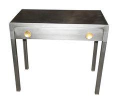 Art Deco metal desk