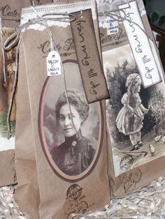 INSPIRATION: lovely favor bags