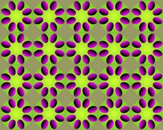 Moving Optical Illusions Pictures Scary | Moving Flower Optical Illusion - Spectacular Optical Illusions and ...