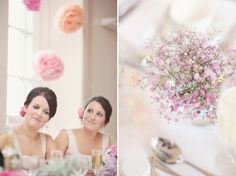 A Pastel Pink and Romantic Homemade, Humanist Wedding