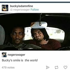 Not happy about Cap kissing Sharon because I ship Stucky, but his smile is awesome, so will make allowances.