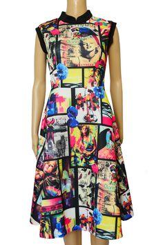 Dress sukienka piankowa Marilyn Monroe www.dariza.pl Sklep Dariza Stworzona By inspirować