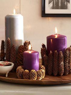 Kerzenlicht ist im Herbst und Winter ein echter Wohlfühlgarant. Wir haben ein paar Tipps, wie Sie Kerzen und Teelichter saisonal aufpeppen