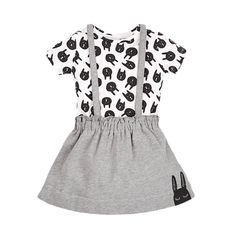 Cute%20Rabbit%20Head%20Printed%20Faux%20Two-Piece%20Cotton%20Short%20Sleeve%20Dress%20in%20Grey%20for%20Baby%20and%20Toddler%20Girls%2C%2038%25%20discount%20%40%20PatPat%20Mom%20Baby%20Shopping%20App