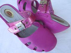 Dr Scholls Dance women sandal size 8 Pink clogs #DrScholls #PlatformsWedges #Casual