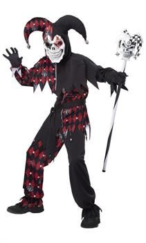 Sinister Jester Child Costume - PartyBell.com