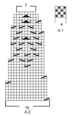 """Warm Autumn - Jersey de punto DROPS con patrón de calados y canesú redondo en """"Eskimo"""". Size: S - XXXL. - Free pattern by DROPS Design"""