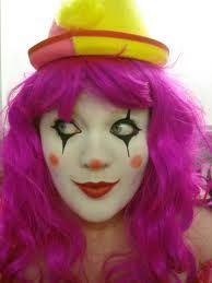 retro clown girls make up - Google Search