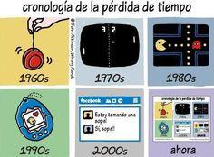 Cronología de la pérdida de tiempo   Toda la actualidad tecnológica en http://www.ipadizate.es/category/tecnologia/…