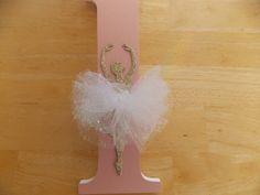 Bailarina letra Set regalos de bebé cartas por CountingOurBlessings