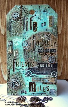 Transport it tag by Kath for the Simon Says Stamp Monday challenge blog!