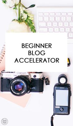 Learn how to start a blog, how to launch a money making blog, and how to make money and work form home. Beginner Blog Accelerator is a course for beginner bloggers who need to learn how to start a blog!