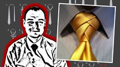 How to Tie an Eldredge Knot - Mirrored Video... for my bros, the only 2 ties n wedding