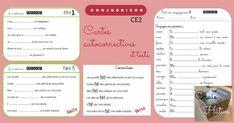 Exercices de conjugaison : cartes et tests pour le cycle 2 Cycle 2, Document, School, Montessori, Grammar, Cards, Thanks