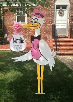 The Baby Stork Company is honored to welcome home baby Natalie!