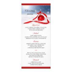 christmas menus festive holiday menu cards