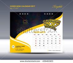Calendar Sample Design Set Orange Desk Calendar 2017 Template Design Cover Desk Calendar .