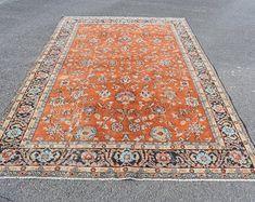 Turkish rug Area rug Vintage rug Carpet Kilim by TurkishRugVillage Large Area Rugs, Rug Making, Rugs On Carpet, Vintage Rugs, Bohemian Rug, Home Decor, Decoration Home, Room Decor, Home Interior Design