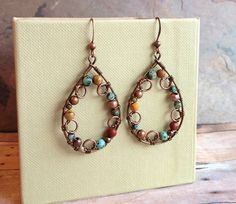Hey, I found this really awesome Etsy listing at https://www.etsy.com/listing/125560119/unique-copper-and-natural-stone-jewelry