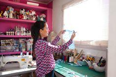 Ateliê Mari Salles Patchwork www.marisallespatchwork.com Crédito da imagem: Talita Chaves www.talitachaves.com.br www.insidetheoffice.com.br