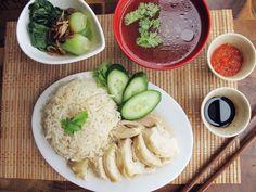 Hainanese Chicken Rice Set. http://www.seriouseats.com/recipes/2013/08/hainanese-chicken-rice-set-recipe.html