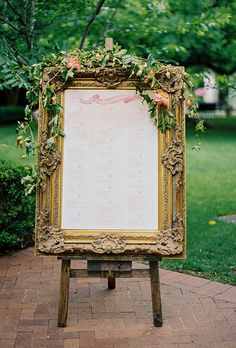 How you set up your seating assignments is just as important as the actual assignments, themselves! Consider these stylish displays for your own big day.