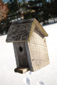 A Rustic Bird House