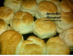 Homemade Biscuits           Who doesn't love fresh, homemade biscuits? For many Appalachian folk, life just wouldn't be so without bi...