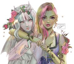 Monster High Art, Monster High Characters, Monster Prom, Monster High Dolls, Monster Girl, Cartoon Monsters, Cool Monsters, Fanart, Personajes Monster High