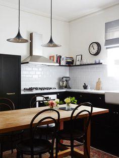 6-Preto e branco imprimem charme em casa na Austrália