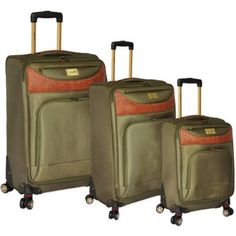 Caribbean Joe Castaway Luggage Collection - BedBathandBeyond.com