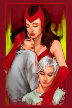 Scarlet Witch, Wiccan, and Speed
