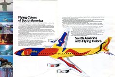 "1975 - Braniff International Airlines Alexander Calder ""Flying ..."