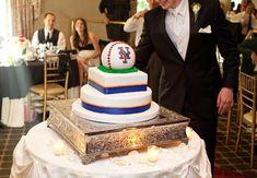 New York Mets Shea Stadium Wedding Cake