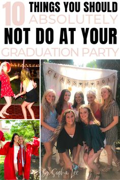 So many people should be reading this high school graduation post! Vintage Graduation Party, Outdoor Graduation Parties, Graduation Party Centerpieces, Graduation Party Themes, High School Graduation Gifts, Graduation Post, Grad Parties, Graduation Decorations, Graduation Ideas