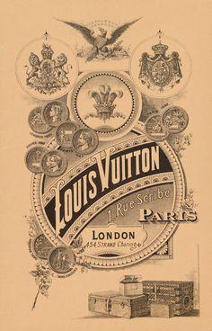 Vintage Louis Vuitton ad