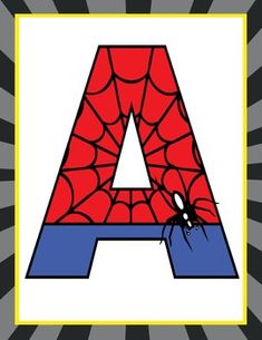 This purchase includes letter printables A to Z and number printables 0 to Great for creating various SUPER HERO banners (Welcome, Headquarters, Super Heroes) Format: * x 11 - size * PDF and JPEGs (or use JPEGS to print smaller sizes) PRINTING: For Superhero Alphabet, Superhero Classroom, Superhero Birthday Party, Classroom Decor, Baby Spiderman, Spiderman Theme, Fête Spider Man, Super Hero Banner, Hulk Party