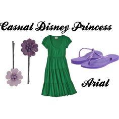Casual Disney Princess Arial