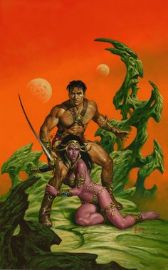 WARLORD OF MARS No. 11 by JoeJusko