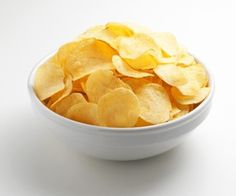 Kid Approved: Homemade Gluten Free Potato Chips - http://glutenfree.answers.com/snacks/kid-approved-homemade-gluten-free-potato-chips