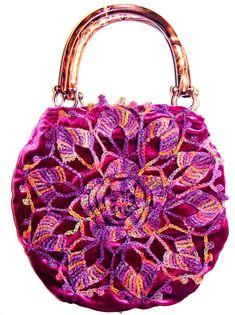 Lotus Flower Bag by Vintage