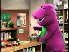 Barney and Friend Books Are Fun! #kids #video's @mad4clips