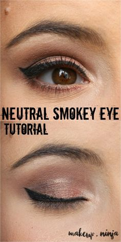 Neutral Smokey Eye T