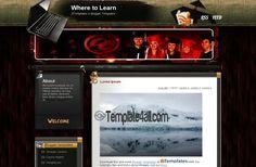 Blogger Templates - Education Blogger Theme #blogger #education #bloggertemplates