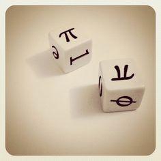 Mathematical dice!