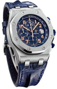 Audemars Piguet Royal Oak Offshore Blue Dial Automatic Mens Watch 26365ISOOD305CR01  Price - $35,145.00 New Hip Hop Beats Uploaded EVERY SINGLE DAY  http://www.kidDyno.com
